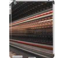 speeding metro iPad Case/Skin