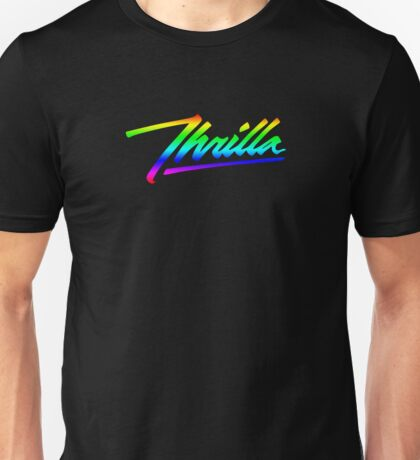 Thrilla Rainbow Unisex T-Shirt