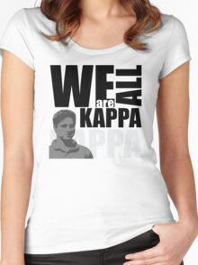 We are all Kappa...pick a color Women's Fitted Scoop T-Shirt