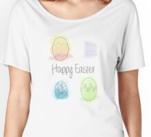 Watercolour Easter Eggs Women's Relaxed Fit T-Shirt