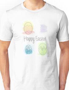 Watercolour Easter Eggs Unisex T-Shirt