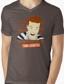 Laughter is Contagious Mens V-Neck T-Shirt