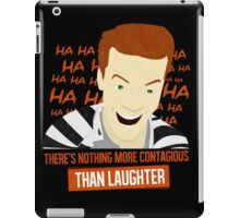 Laughter is Contagious iPad Case/Skin