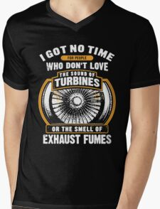 Exhaust Fumes Mens V-Neck T-Shirt
