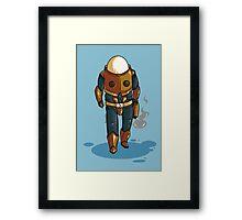 Risk of Rain Commando Framed Print