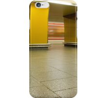 speeding metro iPhone Case/Skin