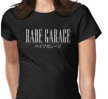 Babe Garage Large Design Womens Fitted T-Shirt