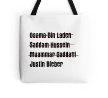 Funny Hit List Tote Bag