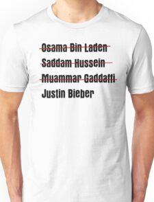 Funny Hit List Unisex T-Shirt