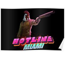 Hotline Miami- Jacket Poster