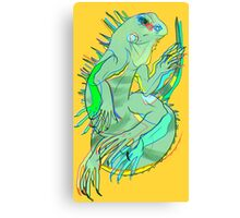 The Iguana Canvas Print