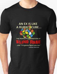 """Comedian David Allen - """"An Ex is Like a Rubik's Cube..."""" Unisex T-Shirt"""