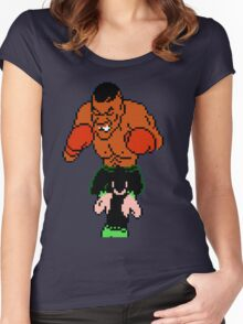 Punch out Women's Fitted Scoop T-Shirt
