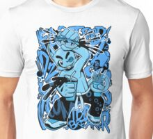 Fast Food Combo Breaker (electric blue) Unisex T-Shirt