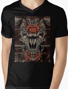 DOOM Icon Of Sin Mens V-Neck T-Shirt