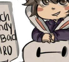 Happy Easter from Hiro and baymax!  Sticker