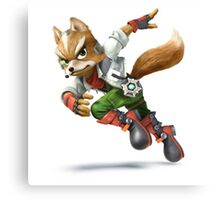 Star Fox - Fox McCloud Canvas Print