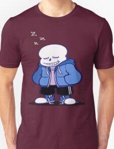 Undertale Sans sleeping shirt. Unisex T-Shirt