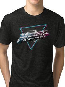 "Meteor - ""Parallel Lives"" album artwork Tri-blend T-Shirt"