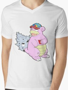 Brah The Slobro Mens V-Neck T-Shirt