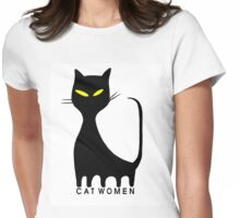 I'm A Sweet Cat Women Womens Fitted T-Shirt