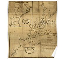 American Revolutionary War Era Maps 1750-1786 356 Campaign of MDCCLXXVI Poster