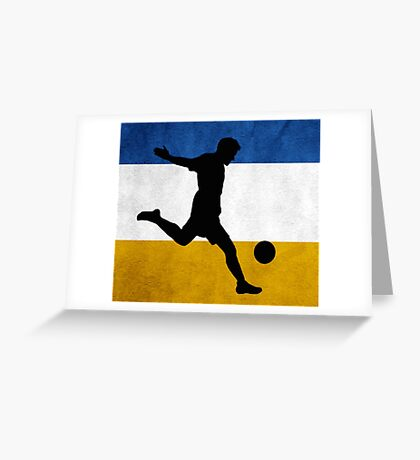 Chile Soccer Greeting Card