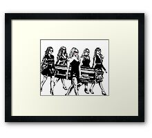 Disappearance Of Alison Framed Print