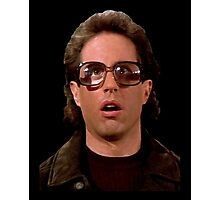Jerry Wearing Glasses To Fool Lloyd Braun Photographic Print