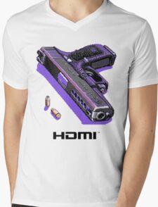Bones Pixel Gun Mens V-Neck T-Shirt