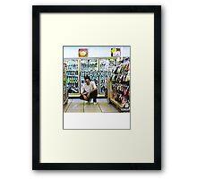 Bones- Cracker Framed Print