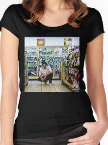 Bones- Cracker Women's Fitted Scoop T-Shirt