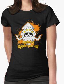 Gotta Splat em' all! Orange Womens Fitted T-Shirt