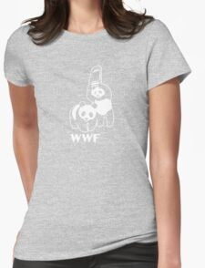 WWF Panda Womens Fitted T-Shirt