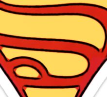 superman & supergirl Sticker