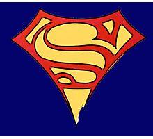 superman & supergirl Photographic Print