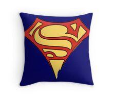superman & supergirl Throw Pillow