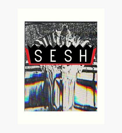 VHS PHARAOH // BONES // SESH  Art Print