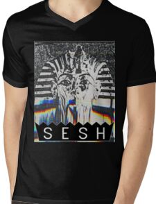 VHS PHARAOH // BONES // SESH  Mens V-Neck T-Shirt