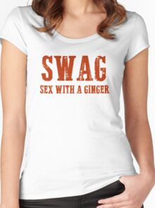 Funny T Shirt For Gingers Women's Fitted Scoop T-Shirt