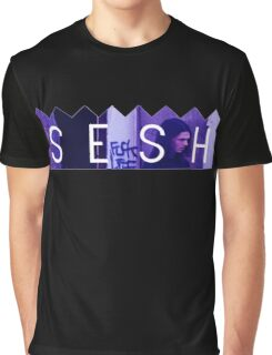 Bones Purple Accent Graphic T-Shirt