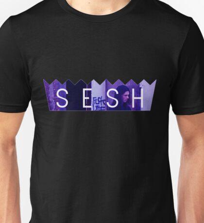 Bones Purple Accent Unisex T-Shirt