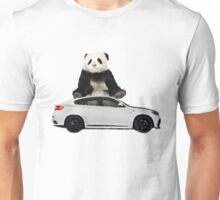 White X6 Look Like A Panda Unisex T-Shirt