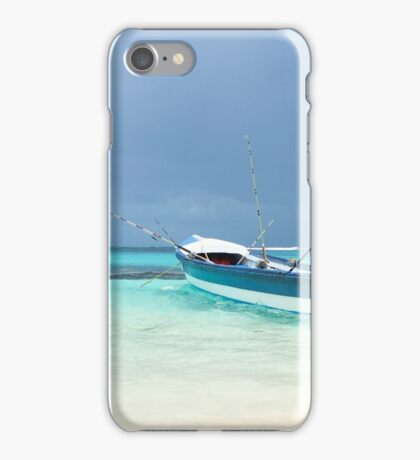 Small Boat. iPhone Case/Skin