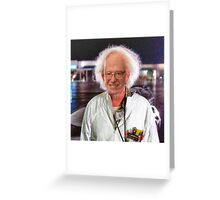 Bern To The Future Greeting Card