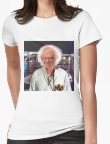 Bern To The Future Womens Fitted T-Shirt