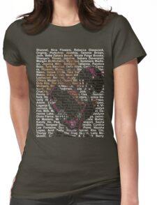 ru girls Womens Fitted T-Shirt