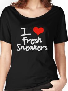 I Love Fresh Sneakers Women's Relaxed Fit T-Shirt