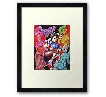 Street Fighter V Girls Framed Print