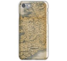 Old-style map of Ireland iPhone Case/Skin